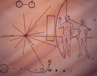 NASA plaque designed by Richard Hoagland