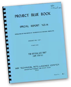Cover of Project Blue Book Documents