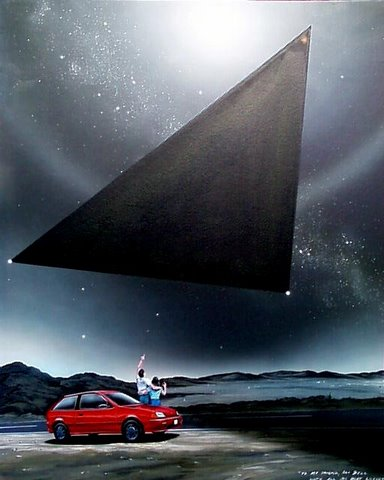 Large triangle craft
