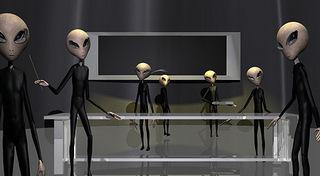 Alien medical procedures on spacecraft