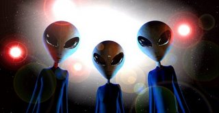 Aliens probe abductee