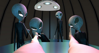 Aliens looking at you