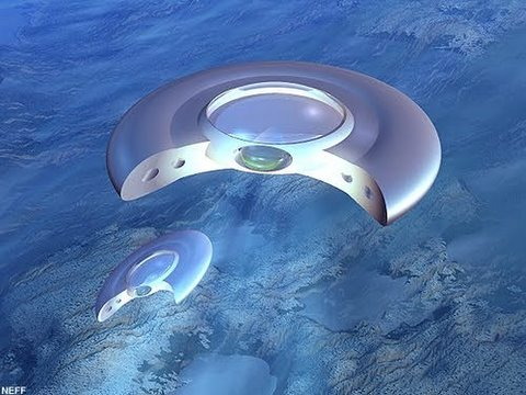 UFOs that kenneth Arnold saw