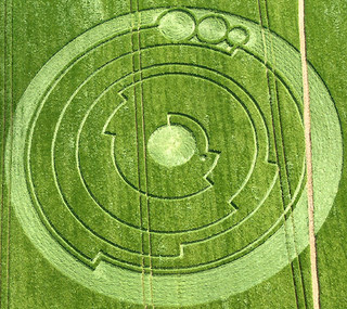 Geometric crop circle