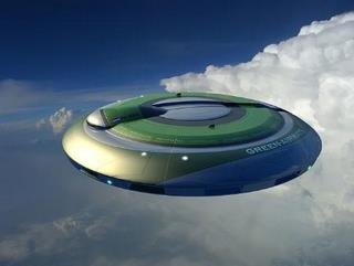 Alien Flying Saucers defy the laws of 'our' physics