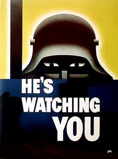 Nazi warning poster