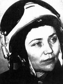 Soviet Cosmonaut Marina Popovich
