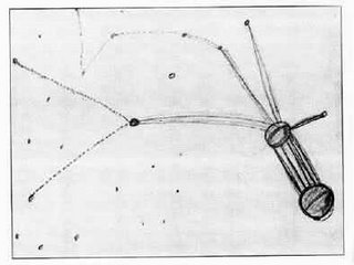 Betty Hill's original star map