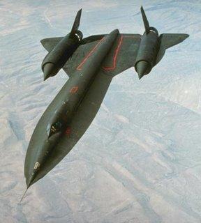 SR71 Blackbird spy plane