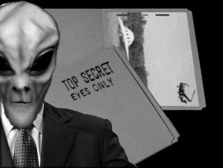 Alien with Top Secret Files