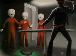 Travis Walton encounters alien beings