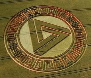 Photo of crop circle