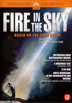Poster from Fire In The Sky movie