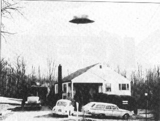 Flying Saucer in Ohio 1950