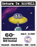 Roswell 60th Anniversary Poster