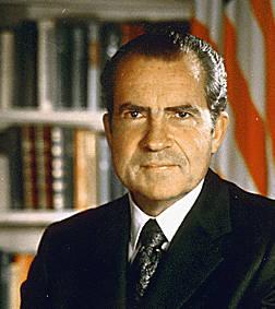 Former President Richard Nixon