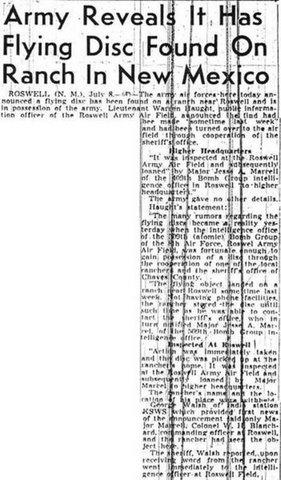 headline from Sacramento Bee 1947
