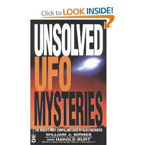 Unsolved UFO Mysteries cover